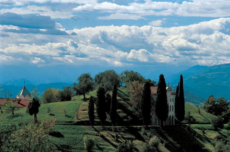 Paesaggio della Villa degli Armeni  - Asolo - Foto di  Maurizio Sartoretto