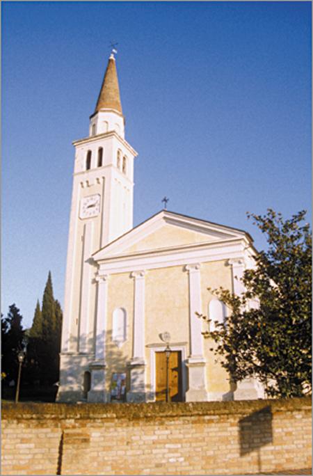 turismo treviso - chiesa parrocchiale di biancade