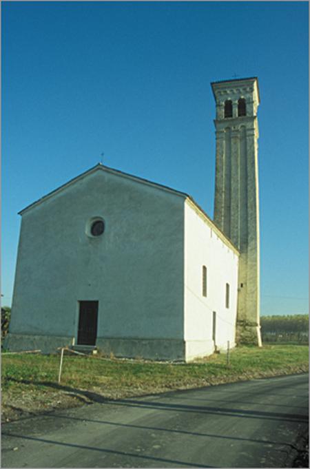 Chiesa di s.maria di castello a biancade (s. valentino)