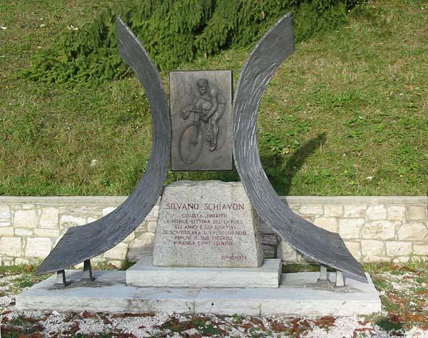 Pianezze, monumento a Silvano Schiavon