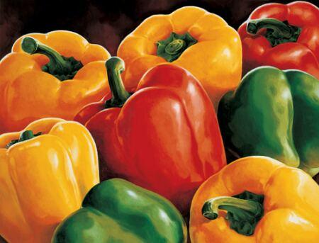 itinerari tra gusti e sapori - i peperoni di Zero Branco
