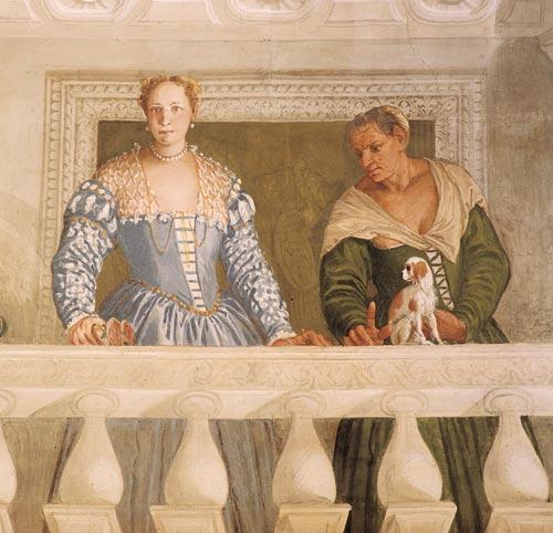 affreschi di Paolo Veronese a Villa Barbaro di Maser