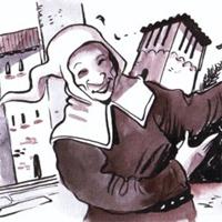 itinerario Marca Storica - Illustrazione: Paolo Cossi - Frontiere